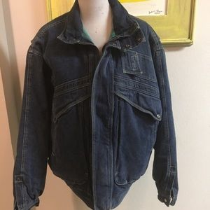 Other - Expeditions large denim coat vintage 80s